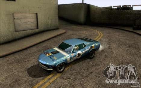 Ford Mustang Boss 302 für GTA San Andreas Motor