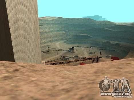 L'eau par défaut pour GTA San Andreas cinquième écran