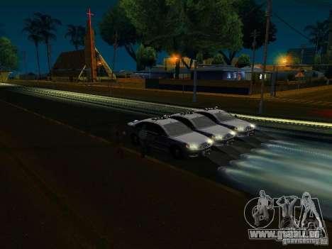 Chevrolet Impala NYPD für GTA San Andreas Räder