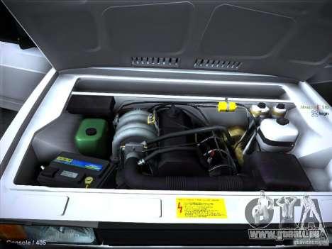 VAZ 2105 Lager Qualität für GTA San Andreas obere Ansicht