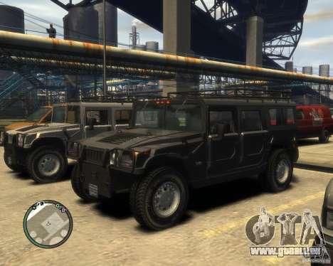 Hummer H1 pour GTA 4 Salon