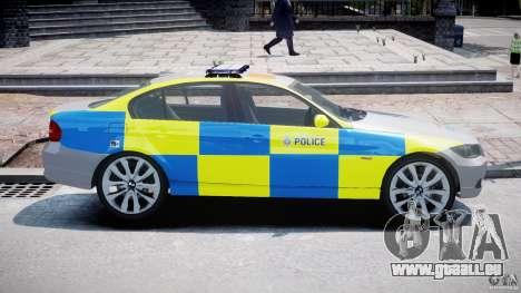 BMW 350i Indonesian Police Car [ELS] pour GTA 4 est une gauche