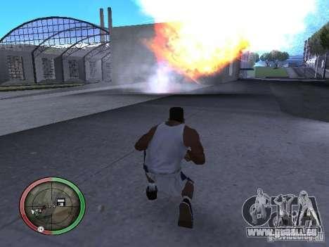 Dynamite MOD pour GTA San Andreas sixième écran