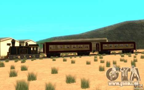 Locomotive pour GTA San Andreas laissé vue