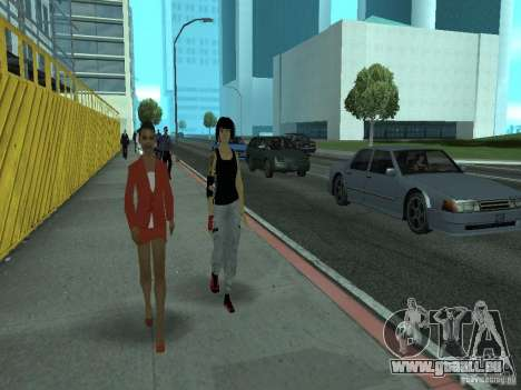 Mirrors Edge Faith für GTA San Andreas dritten Screenshot