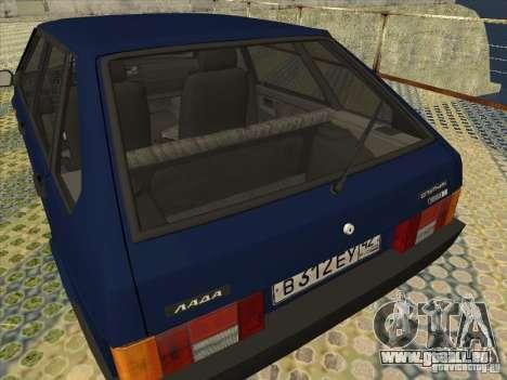 VAZ 2109 Drain V2 für GTA San Andreas rechten Ansicht
