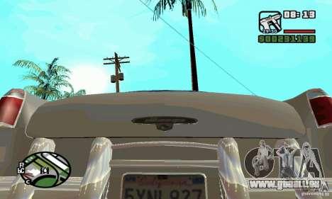 Houstan Wasp (Mafia 2) pour GTA San Andreas vue de droite
