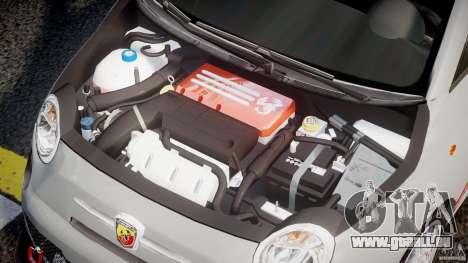 Fiat 500 Abarth für GTA 4 rechte Ansicht