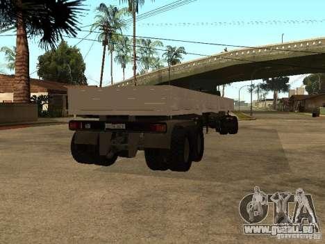 KAMAZ 55111 für GTA San Andreas linke Ansicht