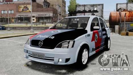 Chevrolet Corsa 2012 PMESP ELS für GTA 4