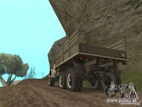 ZIL 131 Main für GTA San Andreas zurück linke Ansicht