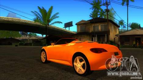 Volkswagen Concept R für GTA San Andreas zurück linke Ansicht