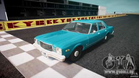 Dodge Aspen v1.1 1979 yellow rear turn signals pour GTA 4