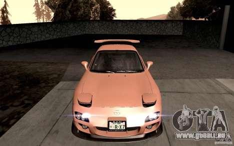 Mazda RX-7 Hellalush für GTA San Andreas