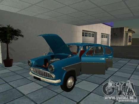 Moskvitsch 423 für GTA San Andreas Rückansicht