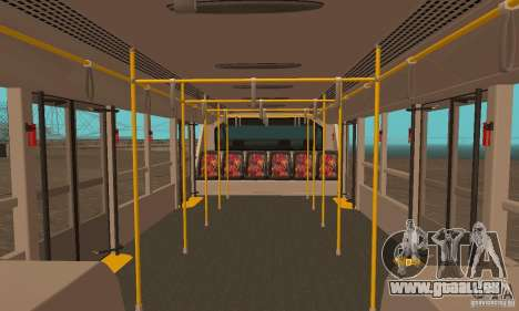 Design X XAPGL pour GTA San Andreas vue de droite