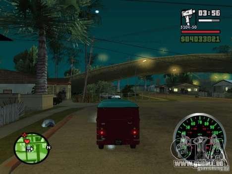 PLAYLIST 762 dans pour GTA San Andreas vue de droite