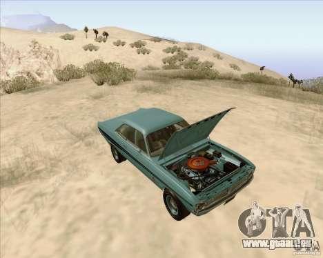 Dodge Demon 1971 für GTA San Andreas Rückansicht