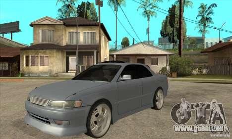 TOYOTA MARK II GT pour GTA San Andreas
