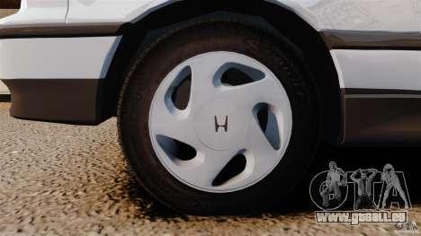 Honda CRX 1991 für GTA 4 Seitenansicht