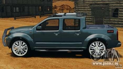 Nissan Frontier DUB v2.0 für GTA 4 linke Ansicht