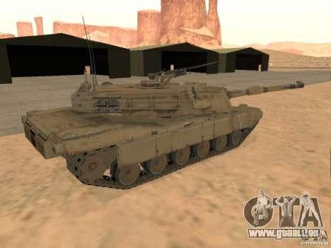 Abrams M1A2 pour GTA San Andreas laissé vue