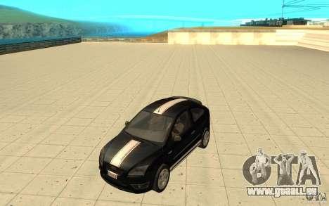 Ford Focus-Grip für GTA San Andreas obere Ansicht