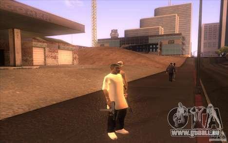 Nouvelle peau pour GTA San Andreas
