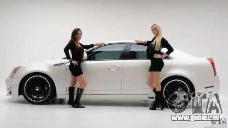 Écrans de chargement et de filles de voiture pour GTA San Andreas troisième écran