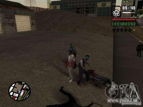 Rottweiler pour GTA San Andreas deuxième écran