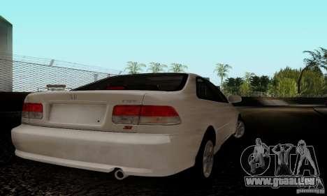 Honda Civic 1999 Si Coupe pour GTA San Andreas vue de droite