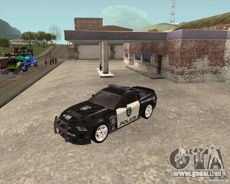 Ford Shelby GT500 2010 Police pour GTA San Andreas