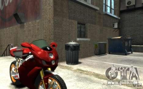 Ducati 999R für GTA 4 rechte Ansicht