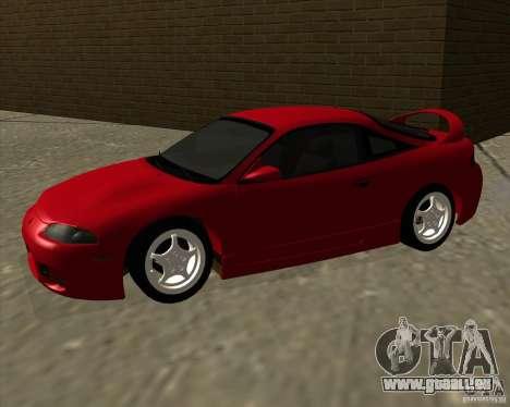 Mitsubishi Eclipse GS-T pour GTA San Andreas laissé vue