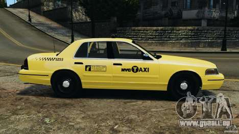 Ford Crown Victoria NYC Taxi 2004 für GTA 4 linke Ansicht
