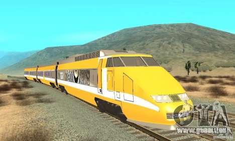 TGV SOUTH WEST pour GTA San Andreas