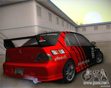 Mitsubishi Lancer Evolution IX Tunable für GTA San Andreas
