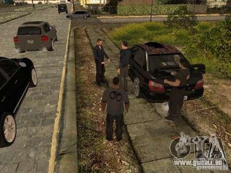 MAFIA Gang pour GTA San Andreas troisième écran