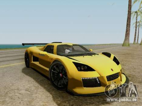 Gumpert Apollo S 2012 pour GTA San Andreas