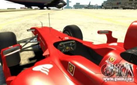 2010 Scuderia Ferrari F10 für GTA 4 rechte Ansicht