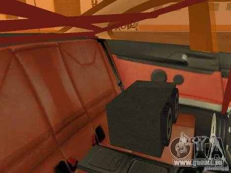 BMW M3 E92 DriftRoots pour GTA San Andreas vue de côté