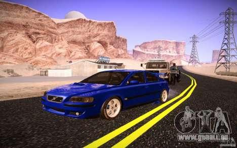 Volvo S 60R für GTA San Andreas Unteransicht
