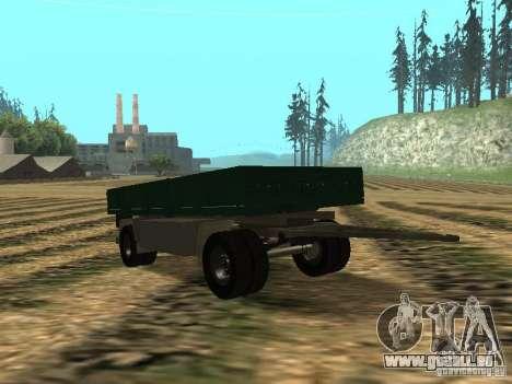 GKB 8350 pour GTA San Andreas vue arrière