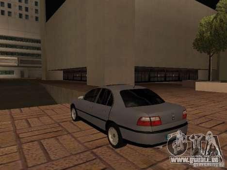 Opel Omega B 1998 v2 pour GTA San Andreas sur la vue arrière gauche