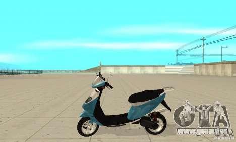 GTAIV Faggio pour GTA San Andreas laissé vue