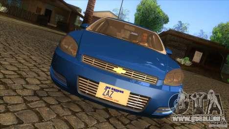 Chevrolet Impala pour GTA San Andreas vue intérieure