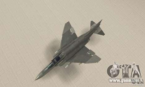 F-4E Phantom II für GTA San Andreas zurück linke Ansicht