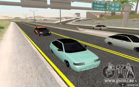 VAZ-2112 leichte Tuning für GTA San Andreas