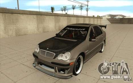 Mercedes-Benz C32 AMG Tuning pour GTA San Andreas
