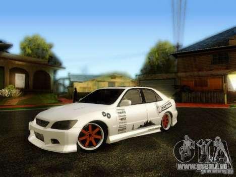 Lexus IS300 Jap style pour GTA San Andreas